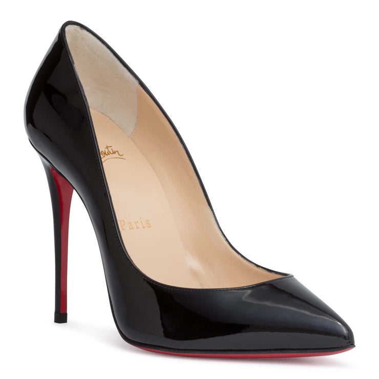 Pigalle Follies 100 patent black pump