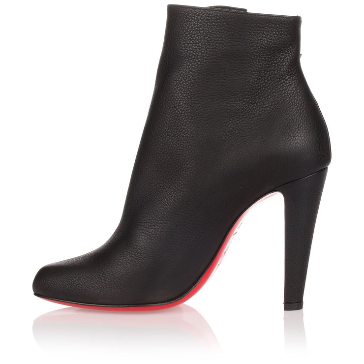 Cavalitta 100 black leather bootie