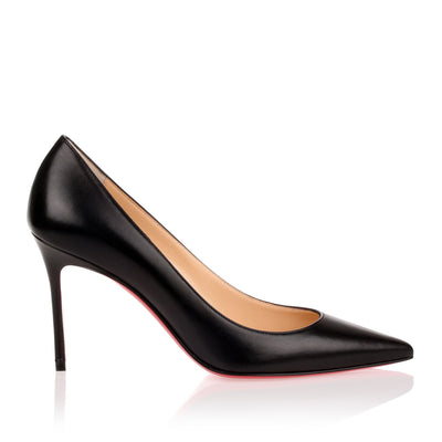 Decollete 554 85 black leather pump