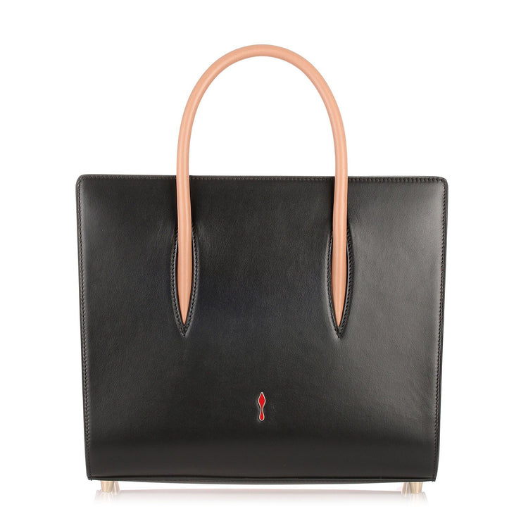 Paloma medium black leather bag