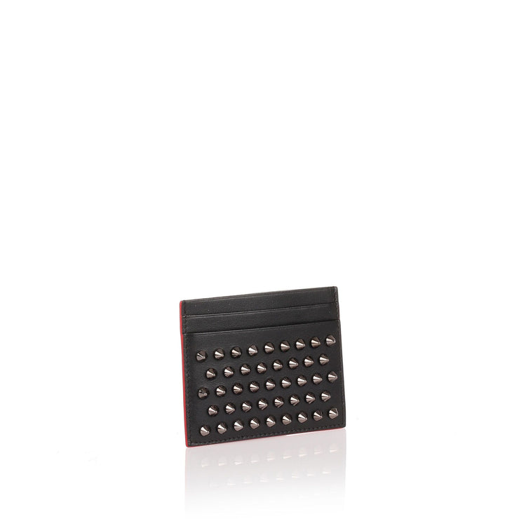 Kios black spikes card holder