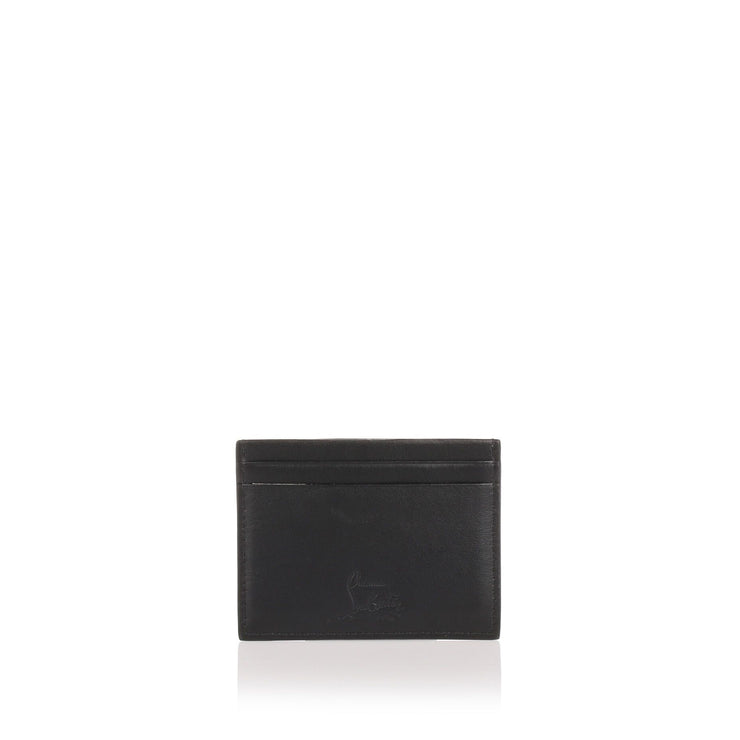 Kios black multi spikes card holder