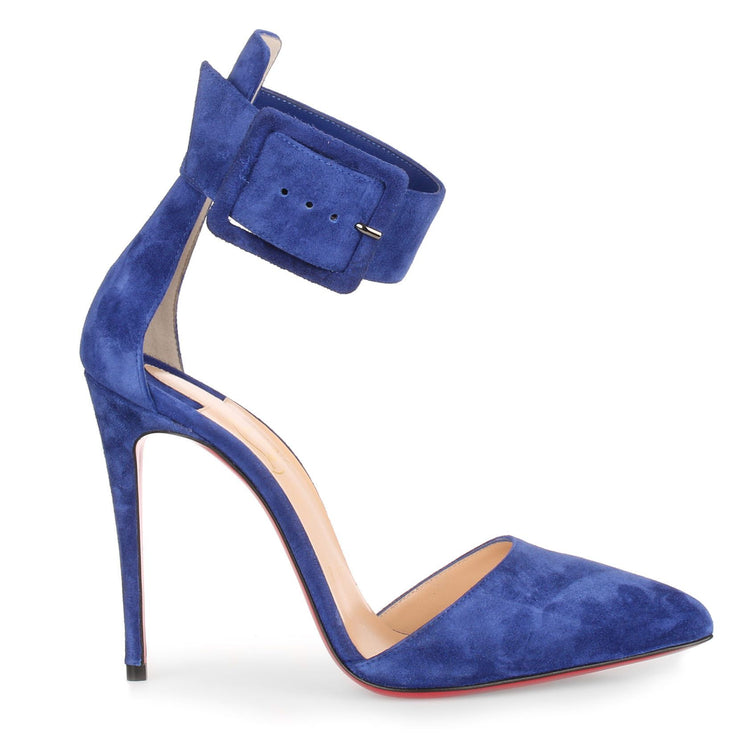 Harler 100 blue suede pump