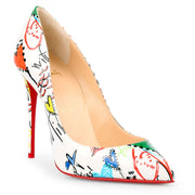 Pigalle Follies 100 patent loubitag pumps