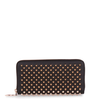 Panettone black and gold spikes wallet