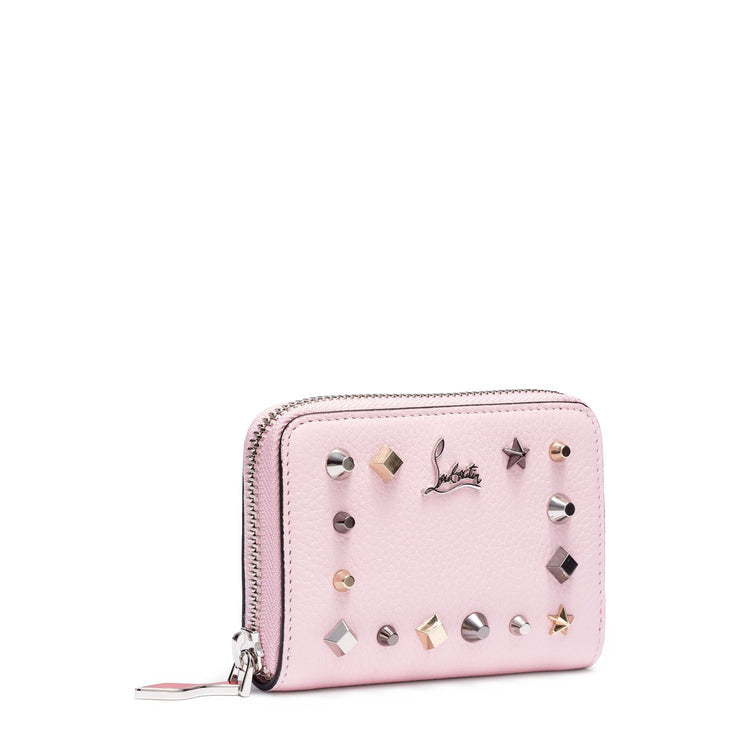 Panettone pink leather coin purse