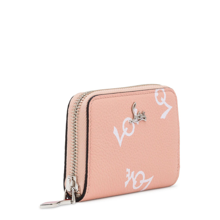 Panettone Crazy Love Light Pink Leather Coin Purse