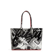 Cabata small Nicograf patent leather tote