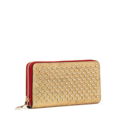 Panettone spikes gold wallet