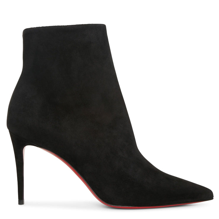 So Kate 85 black suede ankle boots