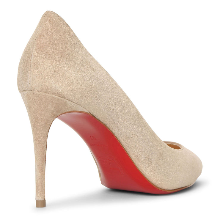 Kate 85 nocciola suede pumps