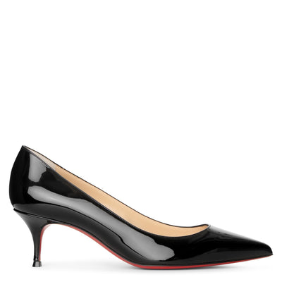Kate 55 patent black pumps