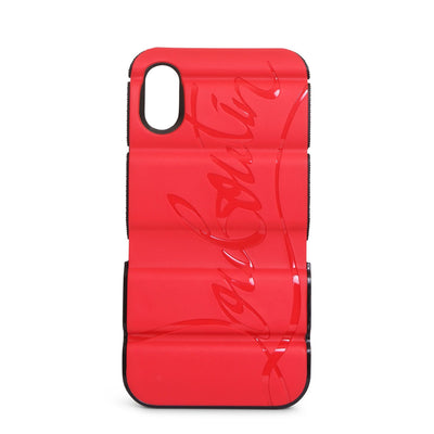 Red runner case iPhone X