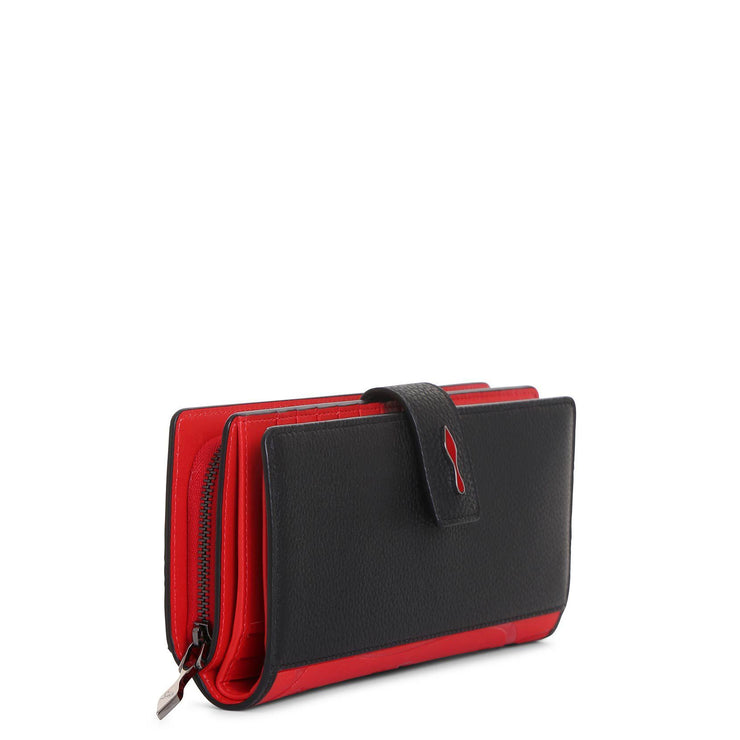 Paloma black and red wallet
