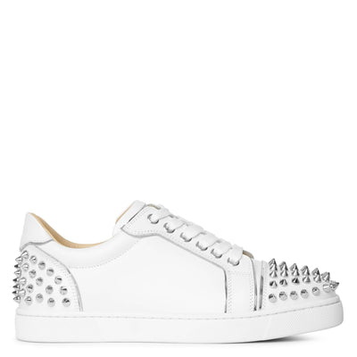 Vieira 2 white leather sneakers