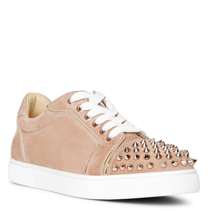 Vieira Spikes courtisane suede sneakers