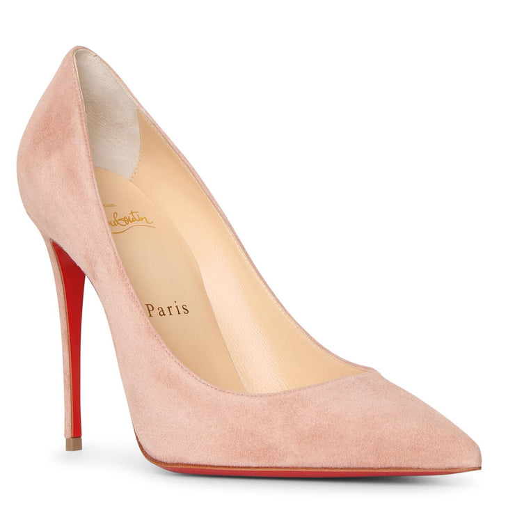 Kate 100 courtisane suede pumps