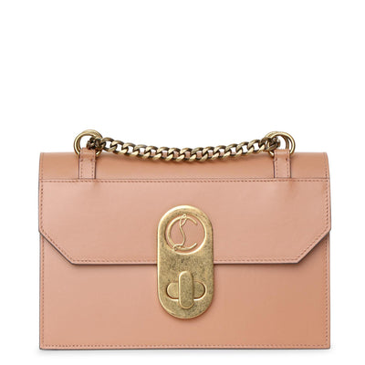 Elisa Small beige shoulder bag