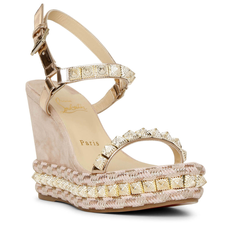Pira Ryad 110 suede wedge sandals