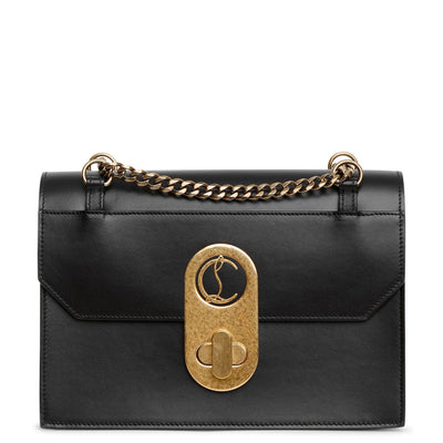 Elisa Large black shoulder bag