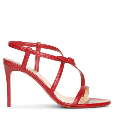 Selima 85 red sandals