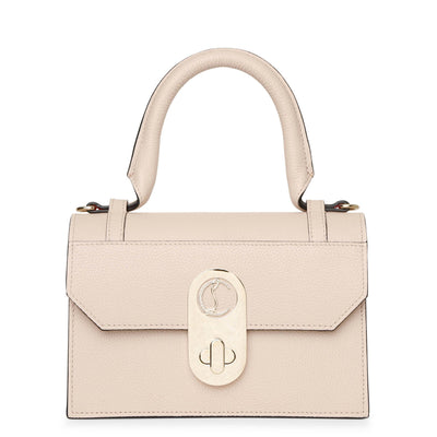 Elisa top handle pearl bag