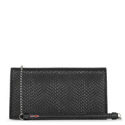 Loubi54 printed leather clutch