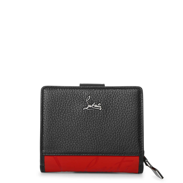 Paloma mini black red wallet