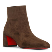 Turela 55 brown suede ankle boots