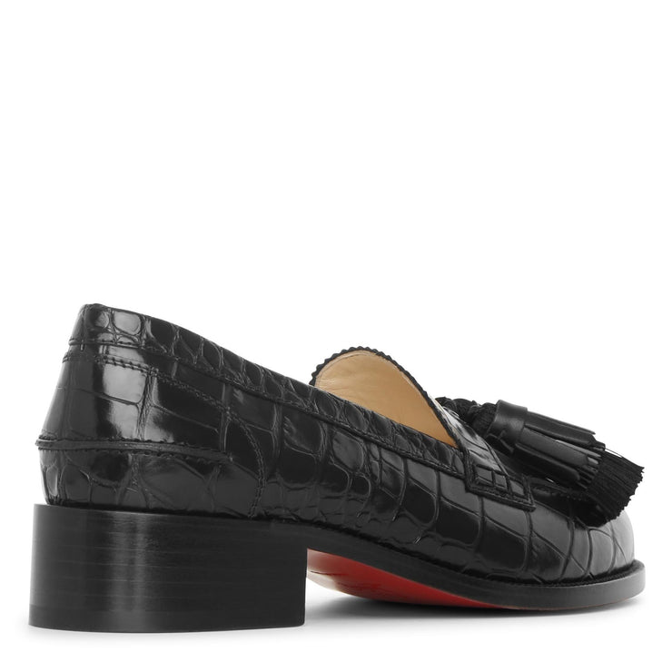 Badmoc flat leather loafers