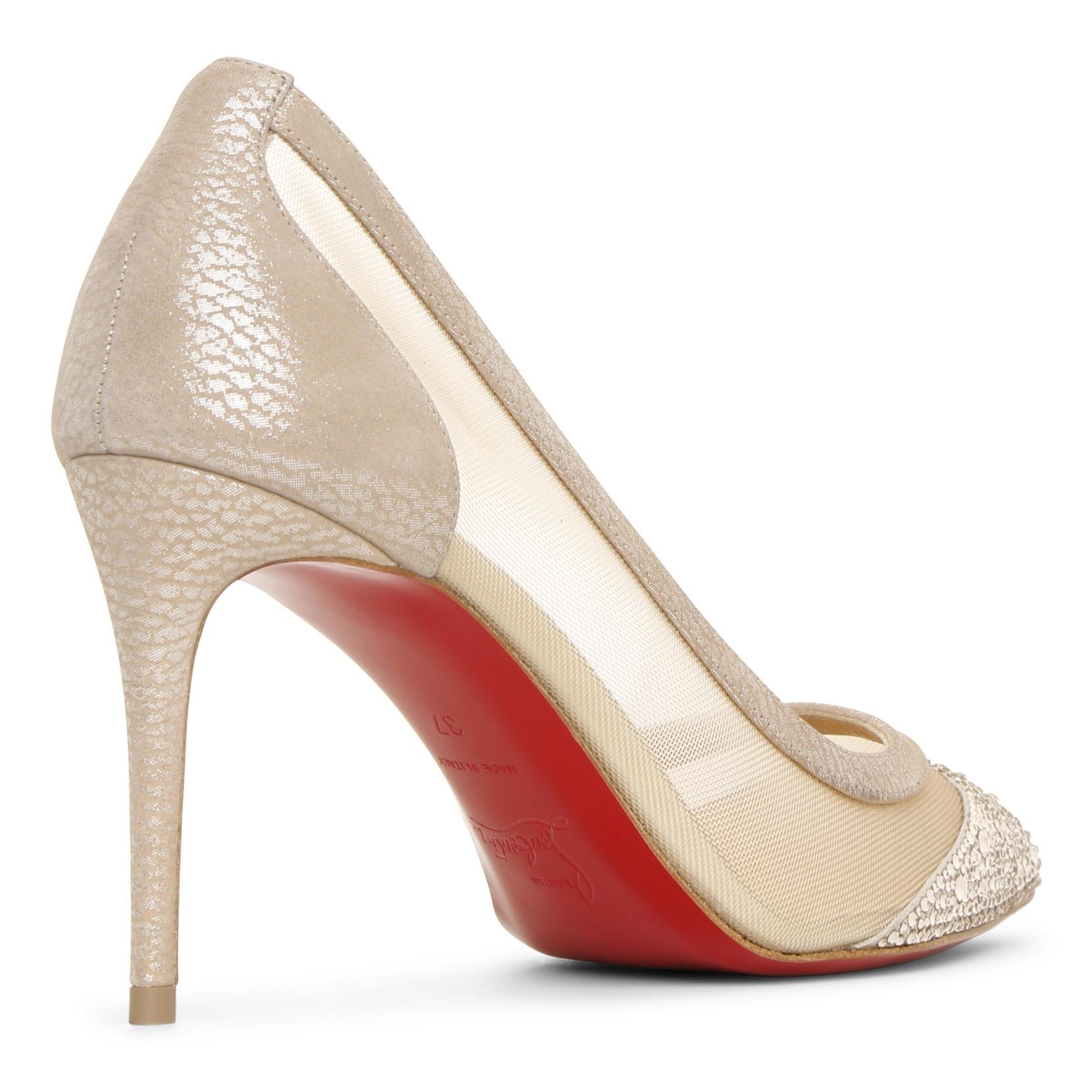 Galativi strass 85 nude pumps