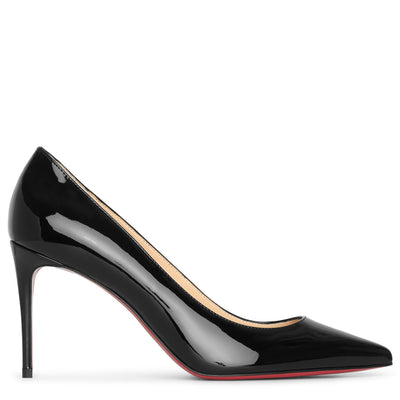 Kate 85 patent black pumps