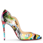 Hot Chick 100 patent sapeur pumps