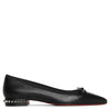 Hall flat nappa black