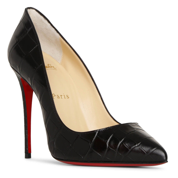 Pigalle Follies 100 black printed pumps