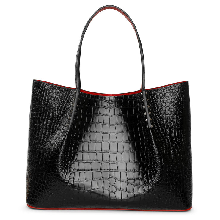 Cabarock large calf leather tote bag