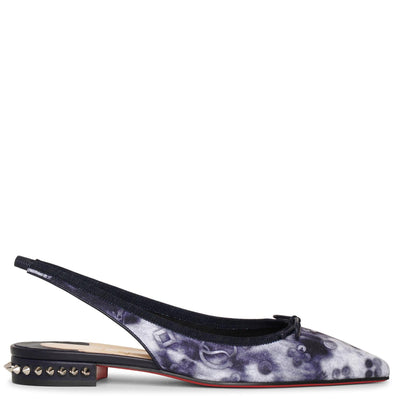 Hall Sling jeans punk flats
