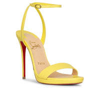 Loubi queen 120 leather sandals