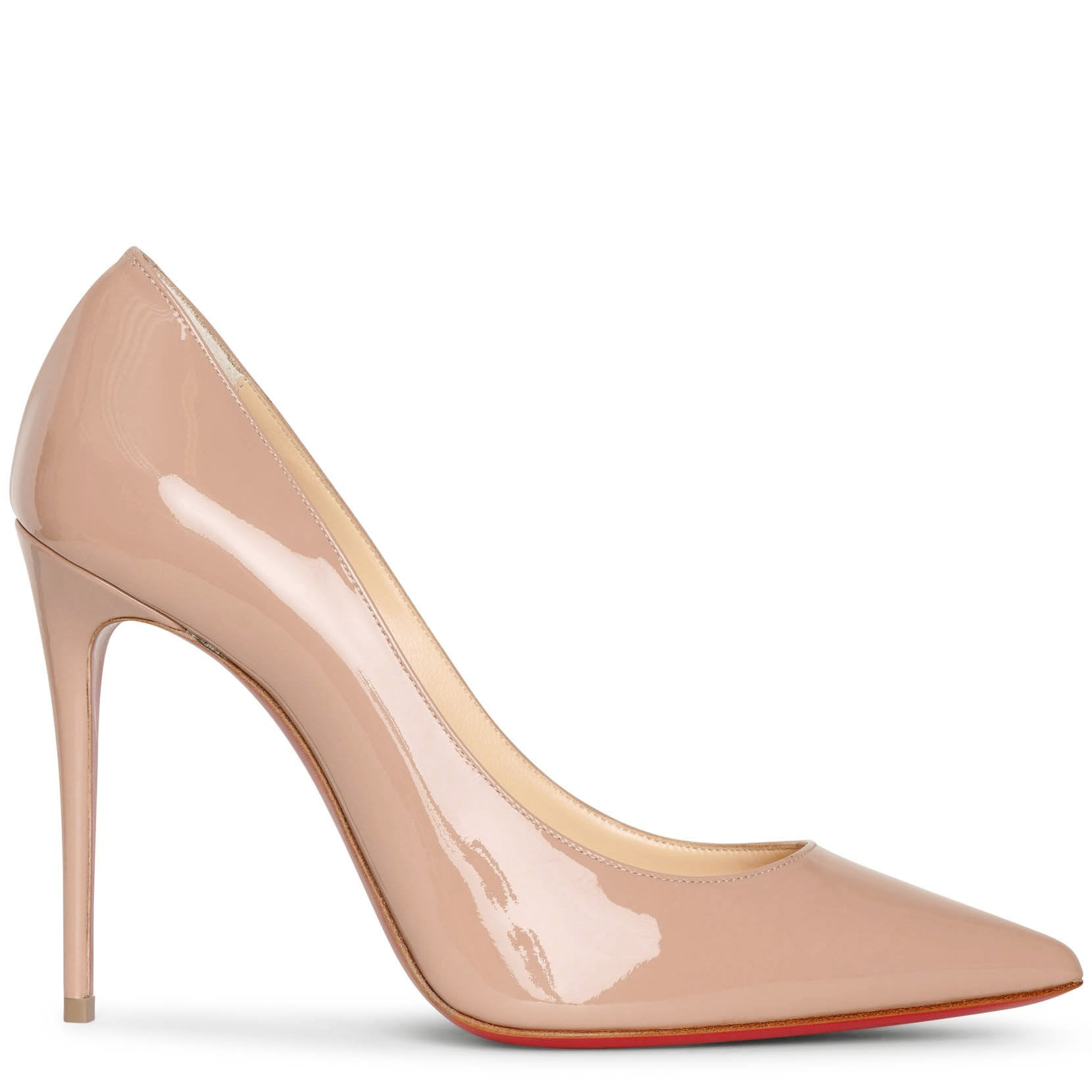 Kate 100 patent nude pumps