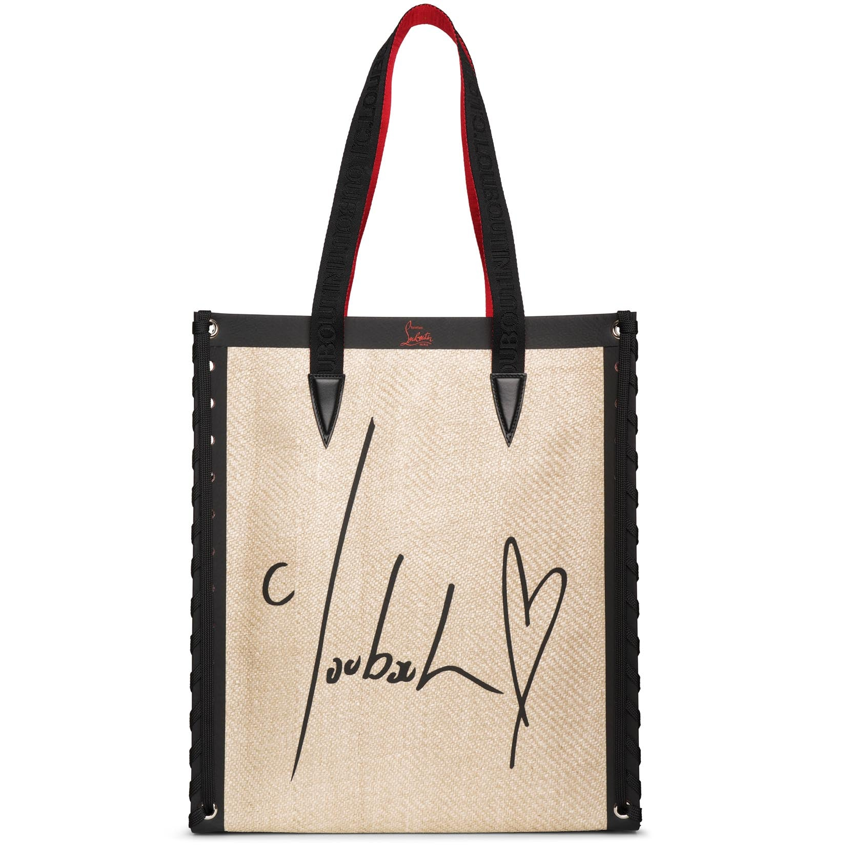 Christian Louboutin Canvases Cabalace Small canvas tote bag