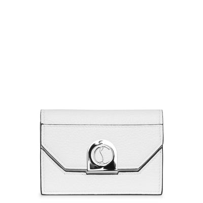 Elisa chain cardholder white and silver