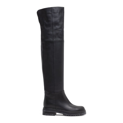 20 Black Over Knee Boots