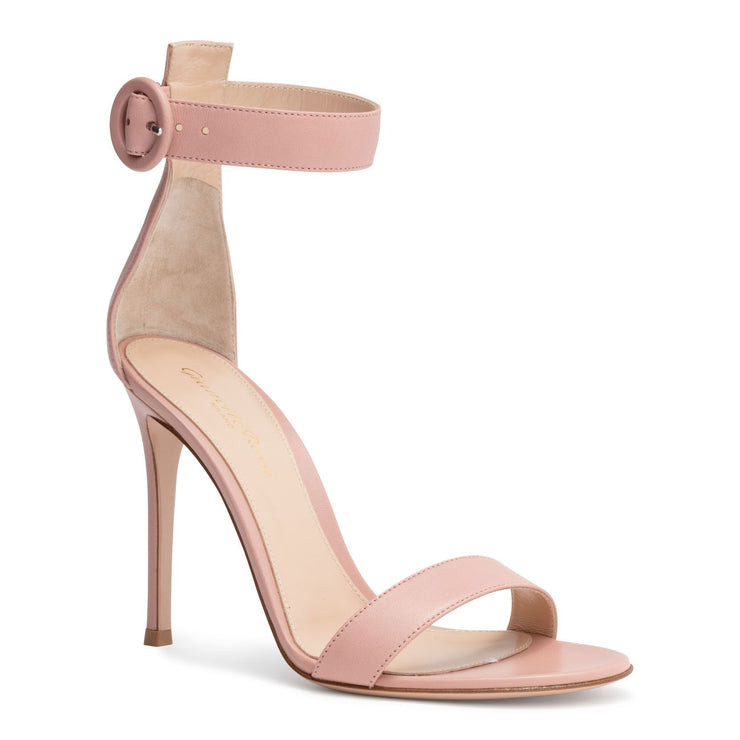 Portofino 105 Dusty Pink Leather Sandals