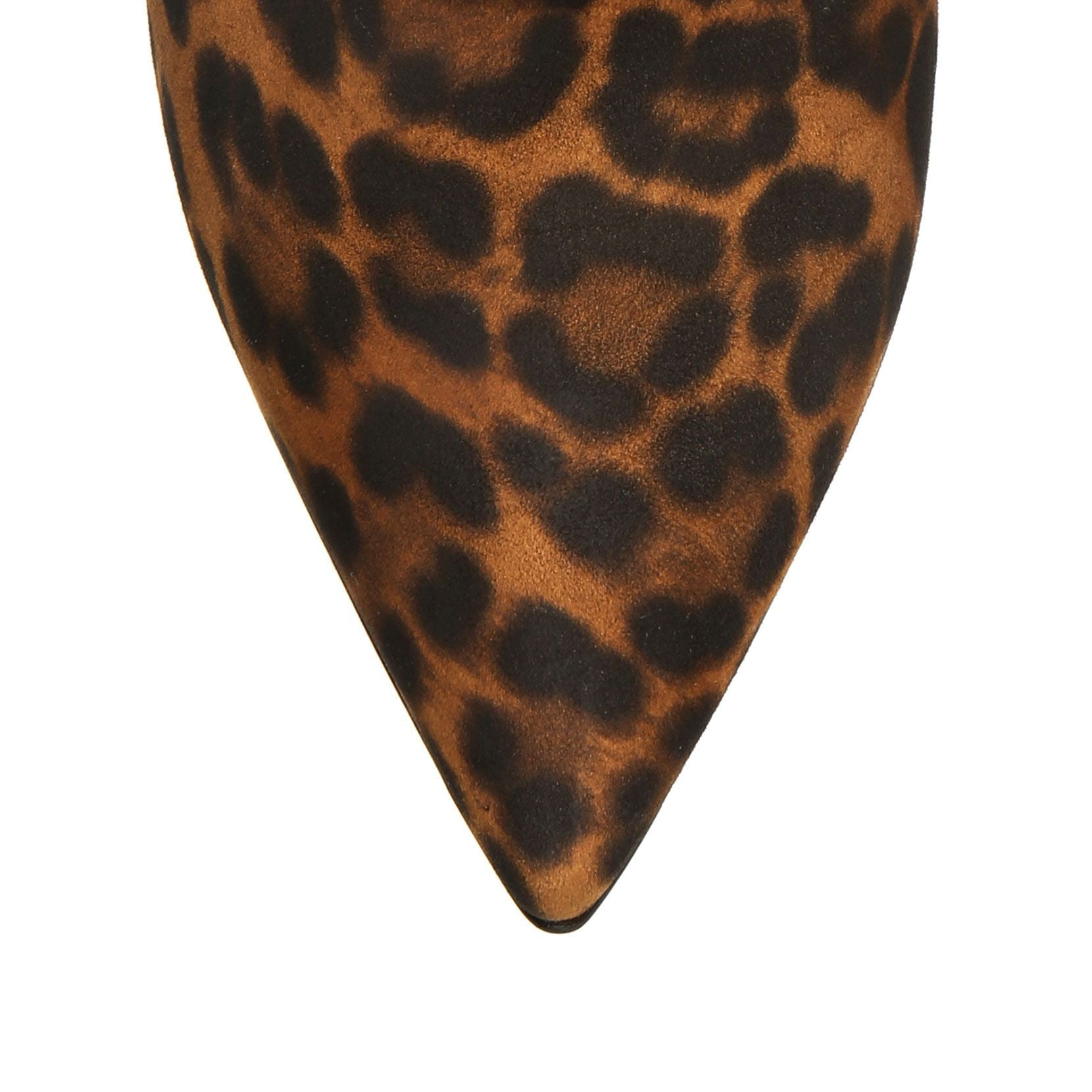 Cecile leopard suede ankle boots