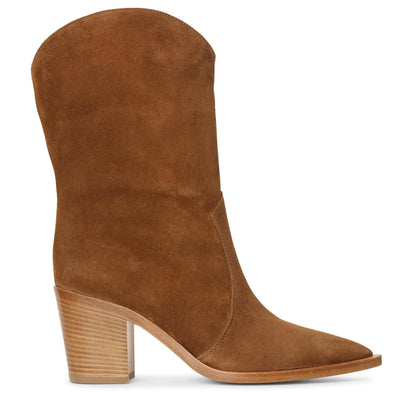Texas suede ankle boots