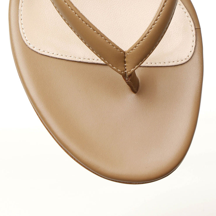 Calypso 70 tan leather sandals