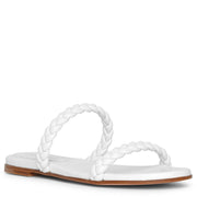 Marley flat braided sandals
