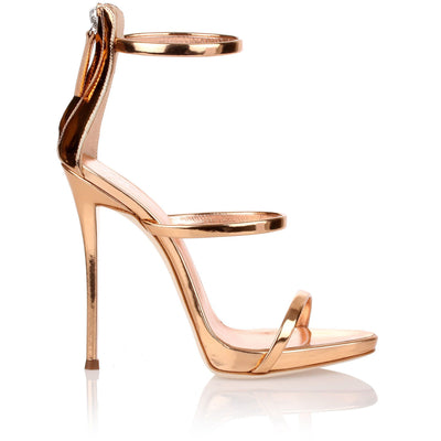 Harmony 120 rose gold sandals