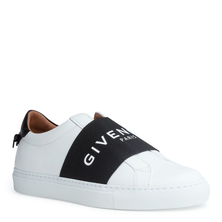 Urban street white logo sneakers