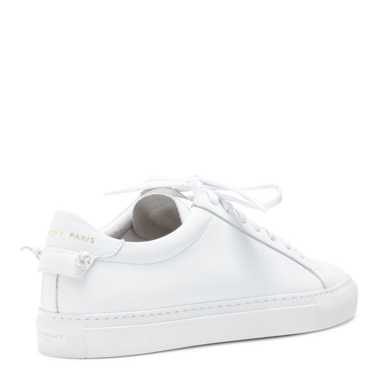 Urban Street White Leather Sneakers